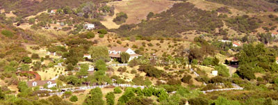 Outdoor Dog Boarding Ranch in the Hills Topanga California